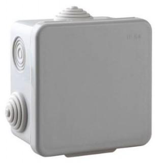 Коробка распределительная наружной установки 80х80х40мм, IP55