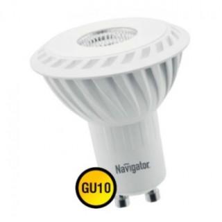 Лампа светодиодная 5W GU10 4000K Navigator