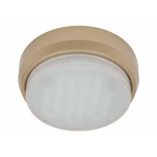 Светильник светодиодный накладной GX53 GD золото