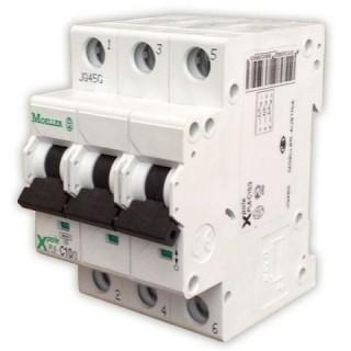 Автоматический выключатель трехполюсный 6А Eaton