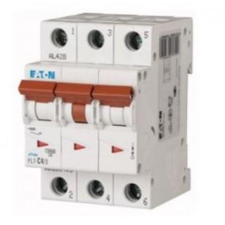 Автоматический выключатель PL7-C4/3, 3P, 4A, ХАР-КА C, 10KA, 3M
