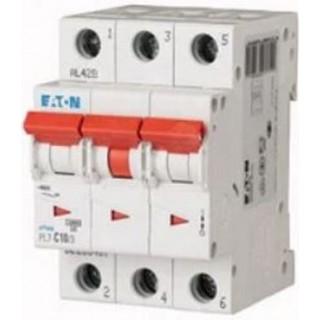 Автоматический выключатель PL7-D10/3, 3P, 10A, ХАР-КА D, 10KA, 3M