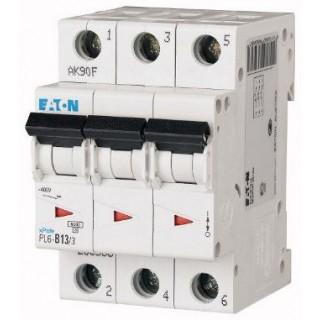 Автоматический выключатель PL7-D40/3, 3P, 40A, ХАР-КА D, 10KA, 3M