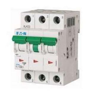 Автоматический выключатель PL7-D6/3, 3P, 6A, ХАР-КА D, 10KA, 3M