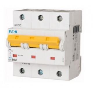 Автоматический выключатель PLHT-C125/3, 3P, 125A, ХАР-КА C, 15KA, 4.5M