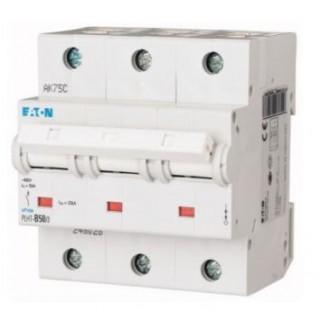 Автоматический выключатель PLHT-D50/3, 3P, 50A, ХАР-КА D, 25KA, 4.5M