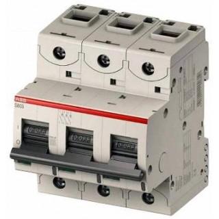 Автоматический выключатель S803C-D10 3P D 10A 25KA 4,5M
