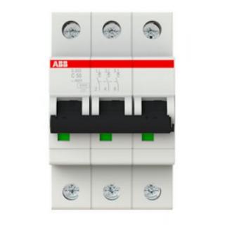 Автоматический выключатель S203-B50 3P B 50A 6KA 3M