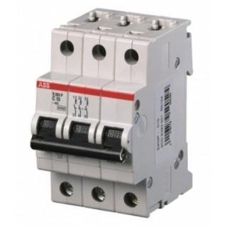 Автоматический выключатель S203P-C50 3P C 50A 15KA 3M