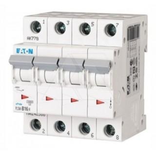 Автоматический выключатель PL7-C20/4, 4P, 20A, ХАР-КА C, 10KA, 4M