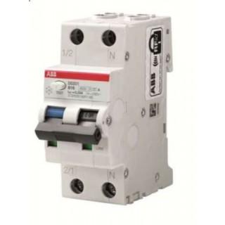 Автомат дифференциальный DS201 C10 AC30 1P+N C 10A 30MA 6KA 2M