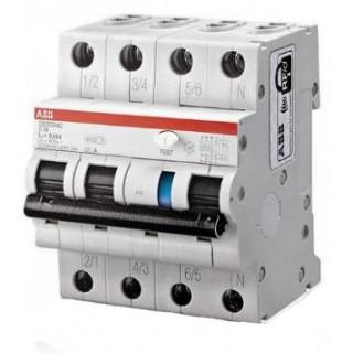 Автомат дифференциальный DS203NC C32 AC 3P+N C 32A 30MA 6KA 4M