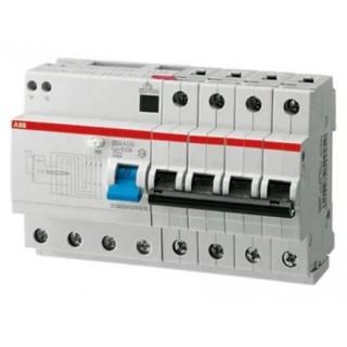 Автомат дифференциальный DS204 AC-C50/0,03 4P C 50A 30MA 6KA 8M