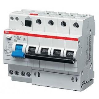 Автомат дифференциальный DS204 AC-C40/0,03 4P C 40A 30MA 6KA 6M