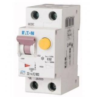 Автомат дифференциальный PFL7-32/1N/B/003, 1P+N, 32A, ХАР-КА B, 10KA, 30MA, ТИП АC, 2M