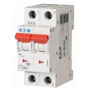Автоматический выключатель PL7-C8/2, 2P, 8A, ХАР-КА C, 10KA, 2M