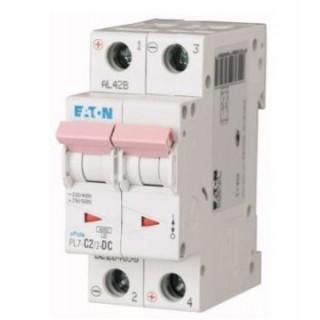 Автоматический выключатель PL7-C2/2, 2P, 2A, ХАР-КА C, 10KA, 2M