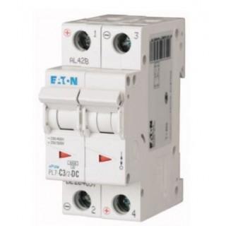 Автоматический выключатель PL7-C3/2-DC, 2P, 3A, ХАР-КА C, 10KA, 250VDC, 2M
