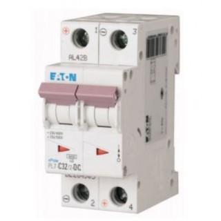 Автоматический выключатель PL7-C32/2-DC, 2P, 32A, ХАР-КА C, 10KA, 250VDC, 2M