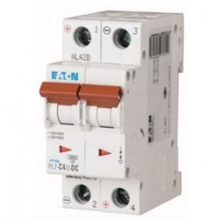 Автоматический выключатель PL7-C4/2, 2P, 4A, ХАР-КА C, 10KA, 2M