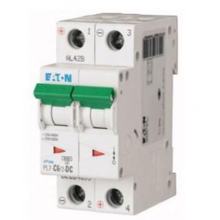 Автоматический выключатель PL7-C6/2-DC, 2P, 6A, ХАР-КА C, 10KA, 250VDC, 2M
