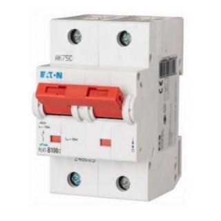 Автоматический выключатель PLHT-C100/2, 2P, 100A, ХАР-КА C, 20KA, 3M