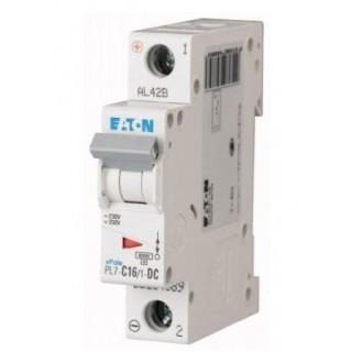 Автоматический выключатель PL7-C16/1-DC, 1P, 16A, ХАР-КА C, 10KA, 250VDC, 1M