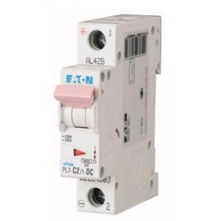 Автоматический выключатель PL7-C2/1, 1P, 2A, ХАР-КА C, 10KA, 1M