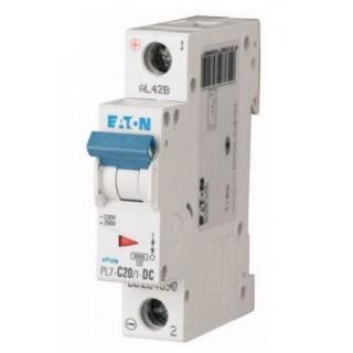 Автоматический выключатель PL7-C20/1-DC, 1P, 20A, ХАР-КА C, 10KA, 250VDC, 1M