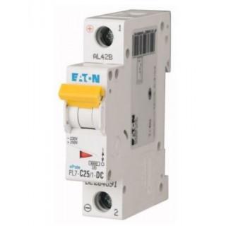 Автоматический выключатель PL7-D25/1, 1P, 25A, ХАР-КА D, 10KA, 1M