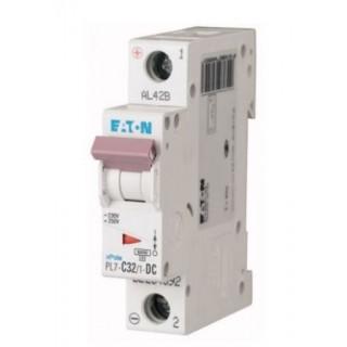Автоматический выключатель PL7-C32/1-DC, 1P, 32A, ХАР-КА C, 10KA, 250VDC, 1M
