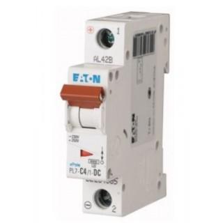 Автоматический выключатель PL7-C4/1, 1P, 4A, ХАР-КА C, 10KA, 1M
