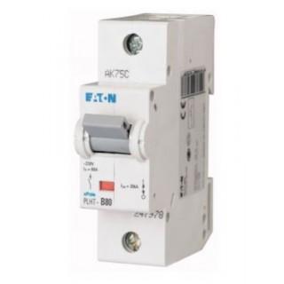 Автоматический выключатель PLHT-C80/1, 1P, 80A, ХАР-КА C, 20KA, 1.5M