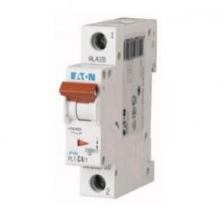 Автоматический выключатель PL7-B4/1, 1P, 4A, ХАР-КА B, 10KA, 1M