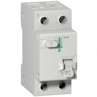 Дифференциальный выключатель нагрузки (УЗО) EASY 9 2П 40А 300мА  A защ. от перенапр