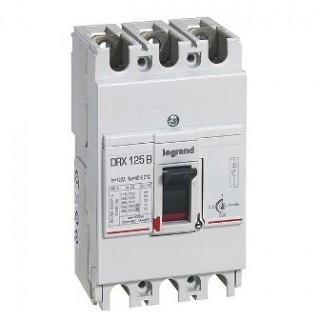 Автоматический выключатель DRX 125/63А 3Р 36кА, ТМ, Iт.р.=0.8... 1Iн. Iэ.р=10Iн Legrand