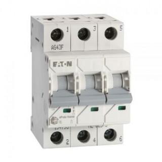 Автоматический выключатель трехполюсный 32А Eaton