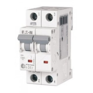 Автоматический выключатель двухполюсный 40А Eaton
