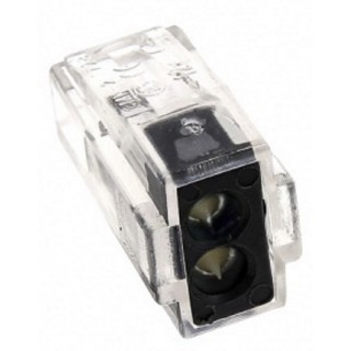 Строительно-монтажная клемма СМК 102, 2 отверстия, 1.0-2,5мм2