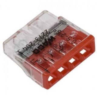 Клеммы WAGO 2273-244 (4х2,5мм2 с пастой) (упаковка 100шт)