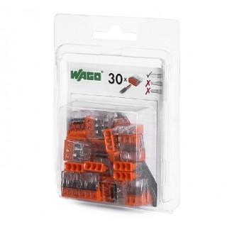 Клеммы WAGO 2273-204/996-020 (4Х2,5мм2) (блистер 20 шт.)