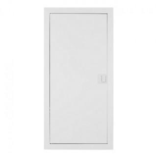 Щит встраив. MSF 4x12M, N/PE 2x 1x25+25x10mm2, мет. дверь, белый RAL9016, IP30