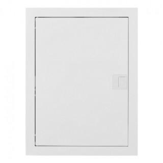 Щит встраив. MSF 2x12M, N/PE 2x 1x25+17x10mm2, мет. дверь, белый RAL9016, IP30