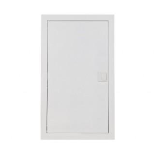 Щит встраив. MSF 3x12M, N/PE 2x 1x25+22x10mm2, мет. дверь, белый RAL9016, IP30
