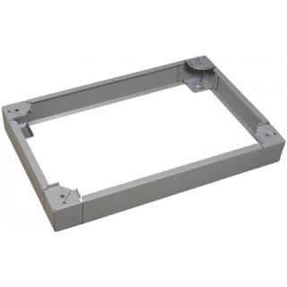 Комплект передних панелей для основания EMOX 800х100мм, нерж.сталь, 2 шт