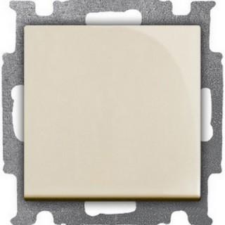Выключатель одноклавишный ABB Basic 55 (сл.кость)