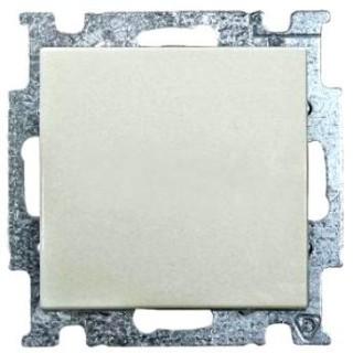 Выключатель одноклавишный ABB basic 55 (шале-белый)