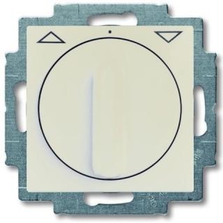 Выключатель поворотный для управления рольставнями без фиксации ABB Basic 55 (сл.кость)