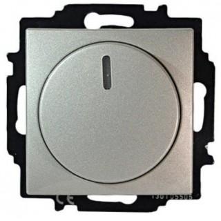 Светорегулятор 60-400 Вт. ABB basic 55 (алюминий)