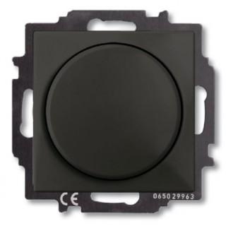 Светорегулятор 60-400 Вт. ABB Basic 55 (шато-черный)